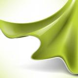 Fondo de seda verde abstracto del concepto