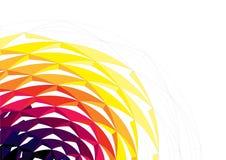 Fondo de semitono abstracto de la ilustración, Imagen de archivo