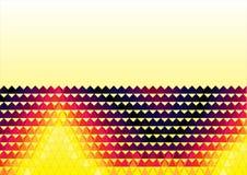 Fondo de semitono abstracto de la ilustración, Imagen de archivo libre de regalías