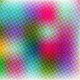Fondo de semitono colorido del estilo abstracto del grunge Fotografía de archivo