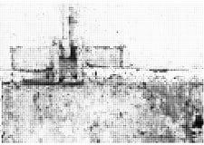 Fondo de semitono de la tinta del vector del Grunge Fotografía de archivo libre de regalías