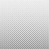 Fondo de semitono del modelo del hexágono del extracto blanco y negro libre illustration