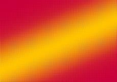 Fondo de semitono diagonal rojo y amarillo Fotografía de archivo libre de regalías