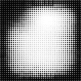 Fondo de semitono El tono medio puntea el marco ejemplo abstracto del vector stock de ilustración