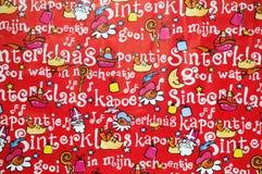 Fondo de Sinterklaas Fotografía de archivo libre de regalías