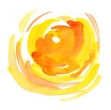 Fondo de Sun Fotografía de archivo libre de regalías