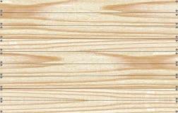 Fondo de tableros de madera con los clavos Imágenes de archivo libres de regalías