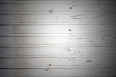 Fondo de tableros de madera pintados Foto de archivo libre de regalías