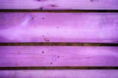 Fondo de tablones de madera púrpuras Imagen de archivo