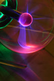 Fondo de Techno del plasma Fotos de archivo