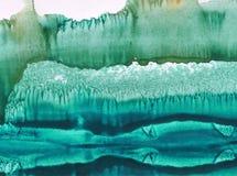 Fondo de textura colorido brillante abstracto de la acuarela hecho a mano E