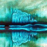 Fondo de textura colorido brillante abstracto de la acuarela hecho a mano E moderno