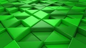 Fondo de triángulos almacen de video