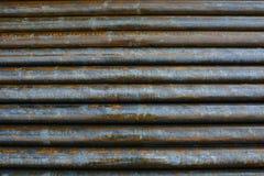 Fondo de tuberías de acero Fotografía de archivo libre de regalías