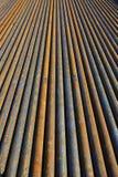 Fondo de tuberías de acero Imagen de archivo libre de regalías