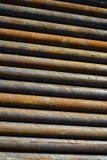 Fondo de tuberías de acero Foto de archivo