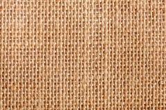 Fondo amarillo de la textura de la tela Foto de archivo