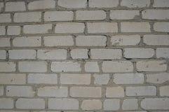 Fondo de una pared de los ladrillos de la arena-cal Fotos de archivo libres de regalías