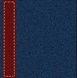 Fondo de una tela de los pantalones vaqueros imágenes de archivo libres de regalías
