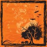 Fondo de Víspera de Todos los Santos Imagen de archivo libre de regalías