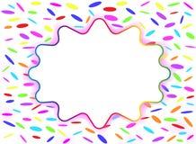 Fondo (de varios colores) colorido stock de ilustración