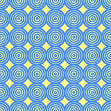Fondo decorativo abstracto de los círculos Fotografía de archivo