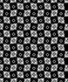 Fondo decorativo blanco y negro inconsútil con formas geométricas Foto de archivo