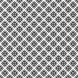 Fondo decorativo blanco y negro inconsútil con las figuras abstractas Imagen de archivo libre de regalías
