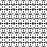Fondo decorativo blanco y negro inconsútil con las líneas y los lunares Foto de archivo