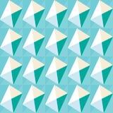 Fondo decorativo colorido inconsútil con formas geométricas Imagenes de archivo