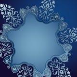 Fondo decorativo con el ornamento La Navidad Imágenes de archivo libres de regalías