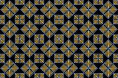 Fondo decorativo con los cuadrados brillantes ilustración del vector