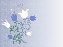 Fondo decorativo de la flor Imagen de archivo libre de regalías
