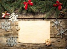 Fondo decorativo de la Navidad fotos de archivo libres de regalías