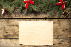 Fondo decorativo de la Navidad fotografía de archivo