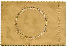 Fondo decorativo de la tarjeta de la vendimia foto de archivo libre de regalías