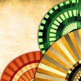 Fondo decorativo de la vendimia Imagen de archivo