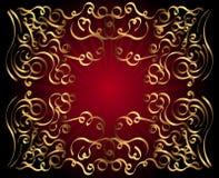 Fondo decorativo del ornamento Imagen de archivo