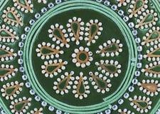 Fondo decorativo del rectángulo de joyería Foto de archivo libre de regalías