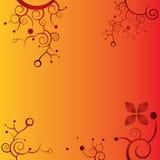 Fondo decorativo del vector de la flor ilustración del vector