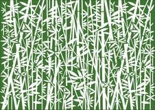 Fondo decorativo di bambù royalty illustrazione gratis