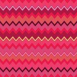 Fondo decorativo inconsútil con con las líneas del zigzag Foto de archivo libre de regalías