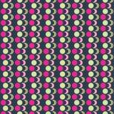 Fondo decorativo inconsútil con formas geométricas Imagen de archivo libre de regalías