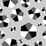 Fondo decorativo inconsútil con formas geométricas Imagenes de archivo