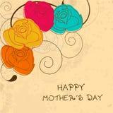 Buona Festa della Mamma celebrazione. illustrazione di stock