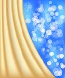 Fondo defocused blu delle luci Fotografie Stock