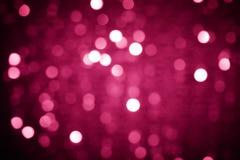 Fondo Defocused de las luces de la Navidad Imágenes de archivo libres de regalías