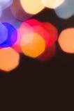 Fondo Defocused de las luces de la Navidad Imagen de archivo