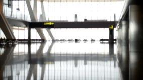Fondo Defocused del aeropuerto almacen de metraje de vídeo