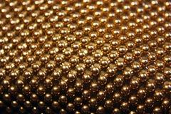 Fondo defocused del bokeh amarillo abstracto Las luces coloreadas empañan el fondo de las bolas del oro fotos de archivo